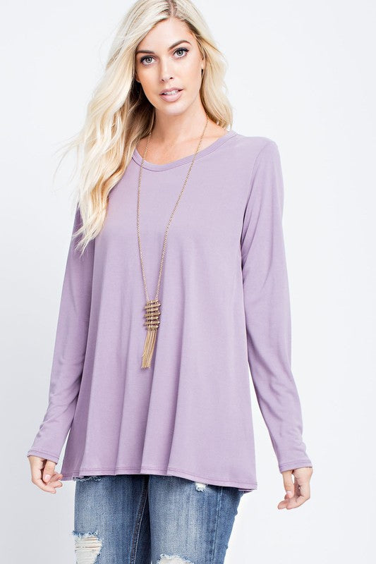 Marvelous in Mauve Top