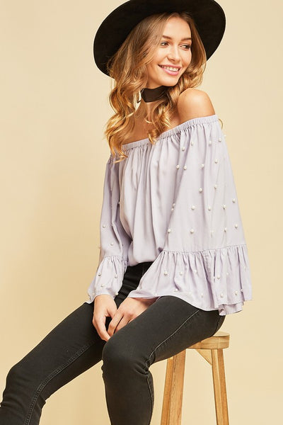 Perfect With Pearls Top