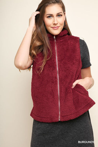 Products Fuzzy Knit Vest with Zipper Duplicate View  Promote  More actions  Title  Fuzzy Knit Vest with Zipper