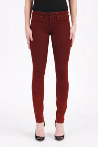 Articles of Society - Alpine Burgundy Skinny Jeans