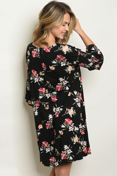 Awesome Floral Tunic Dress