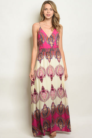 Baring the Back Maxi Dress