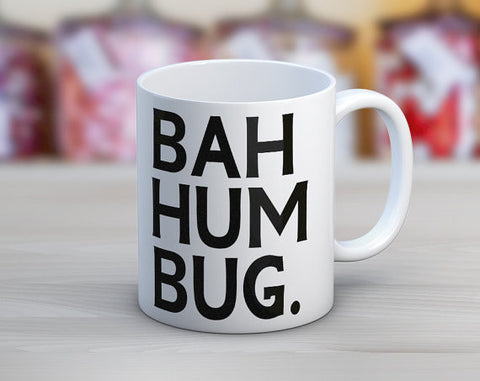 Bah Humbug // Holiday Christmas// Coffee Mug