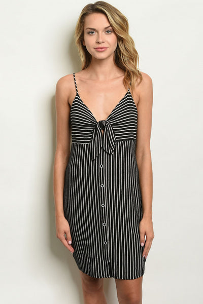Sassy And Striped Dress