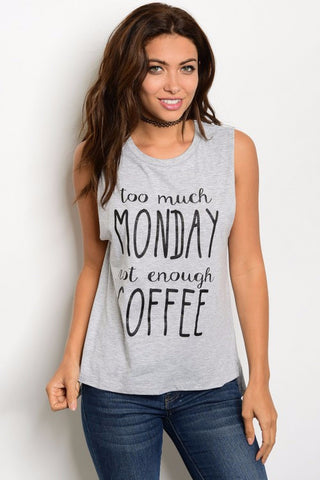 Too Much Monday Graphic Tee