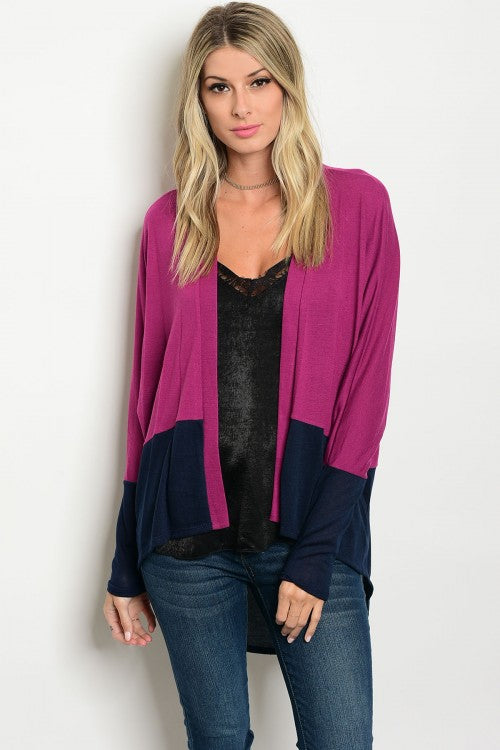 Mad About Magenta Cardigan