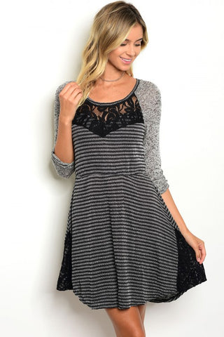 Lacey Gray Dress
