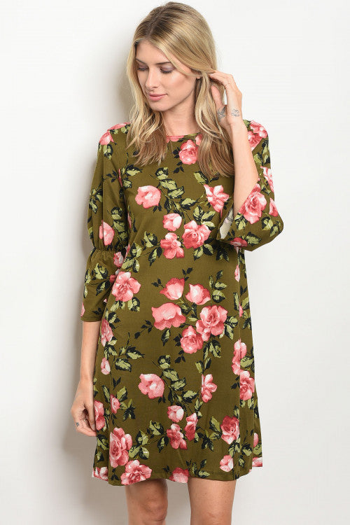 Must be Olive Dress