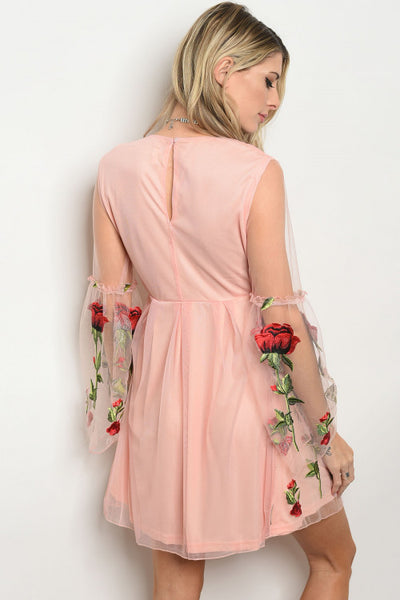 Rosey Day Dress