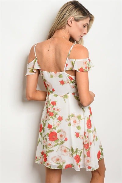 Give Me The Cold Shoulder Dress