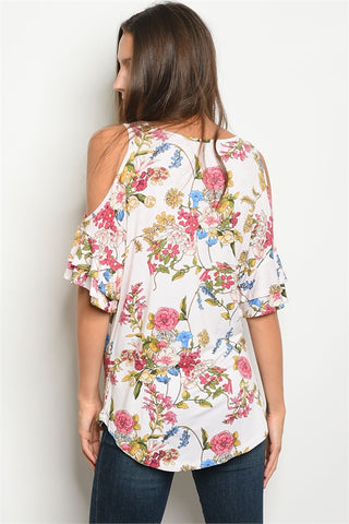 Love Some Florals Top