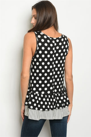 Polka Dots Please Top