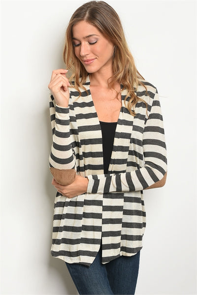No Excuses Cardigan - Charcoal