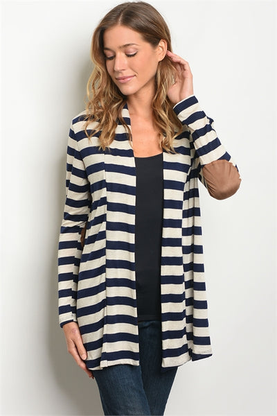 No Excuses Cardigan - Navy