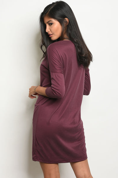 Everyday Dress - Plum