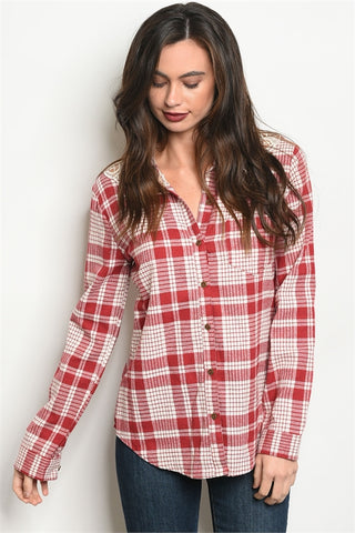Falling for Plaid Shirt