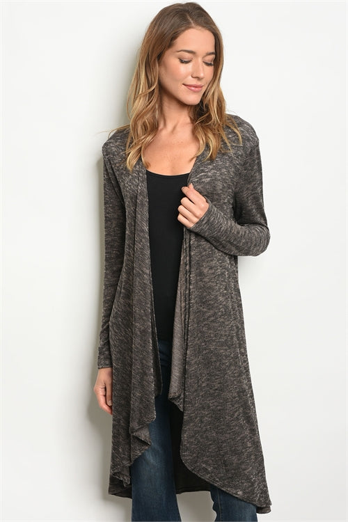 Great In Heather Gray Cardigan