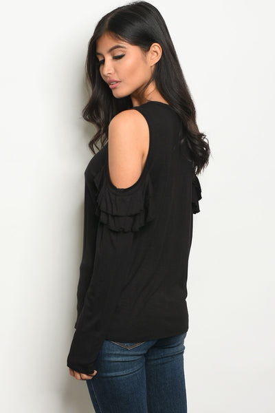 Giving The Cold Shoulder Top