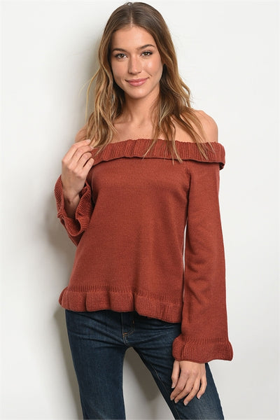 Show Off Shoulder Sweater