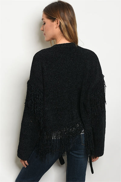 Fun and Fringy Sweater