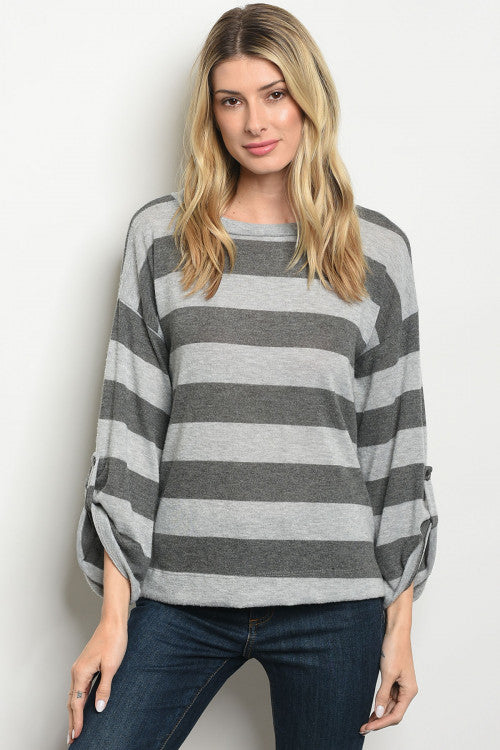 Charcoal Me Top