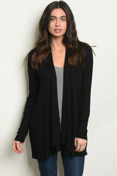 Another Black Cardigan