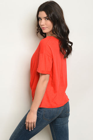 Red Knot Top