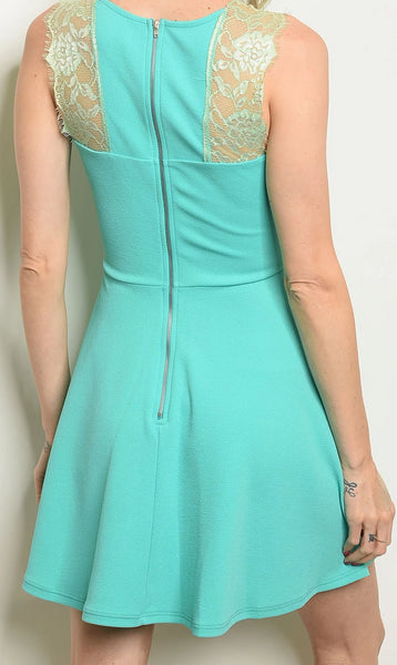 Mad About Mint Dress