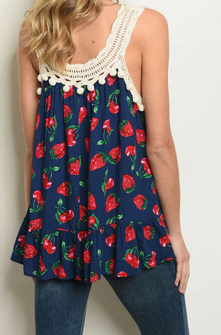 Berry Beautiful - Navy