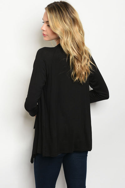 Everyday Black Cardigan