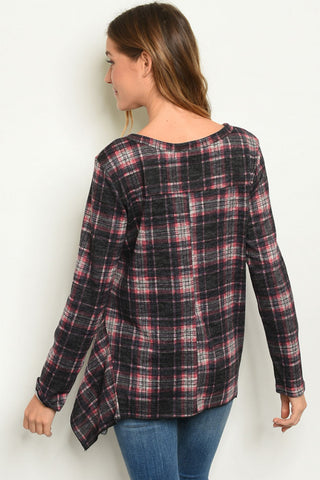 Charming Checkers Top