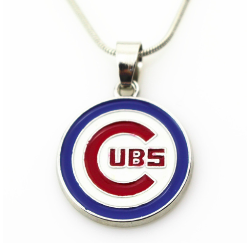 Chicago Cub Pendant Necklace