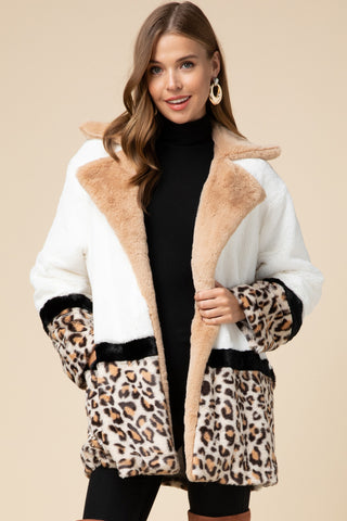 Hear Me Roar Faux Fur Jacket