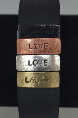 Live, Laugh, Love FitFashions Charm