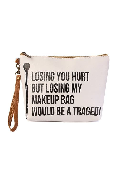Don't Lose Your Makeup Bag