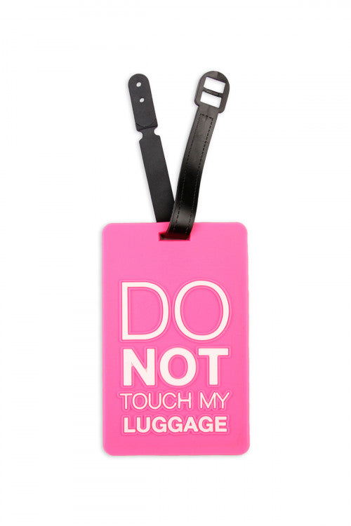 DON'T TOUCH LUGGAGE TAGS