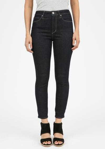 Articles of Society Heather High Rise Jeans in Pure Blue Color