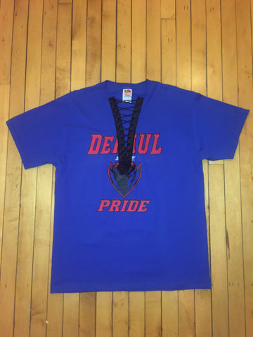 DePaul University Lace-Up T