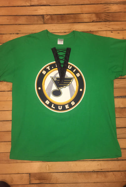ST. Louis Blues Lace-Up T