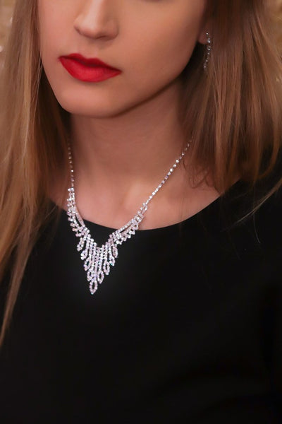 Wings of an Angel Statement Necklace