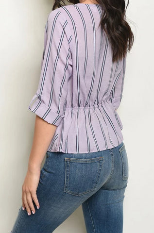 Why Knot Lavender Top