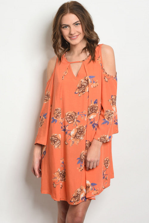 Orange You Ready for Spring Dress