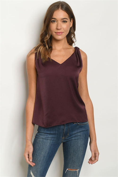 Basic Tank - Black, Cream or Wine