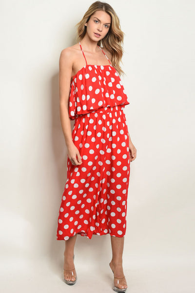 Pretty In Polka Dot Jumpsuit