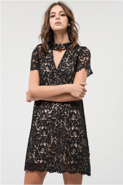 Lacey Lady Black Dress