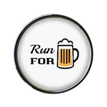 Run for Beer Sneaker Charm