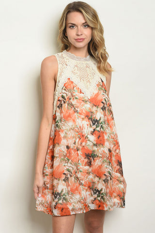 Sunshine and Floral Dress