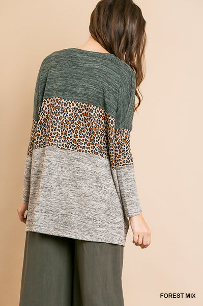 Spotted and Knotted Top