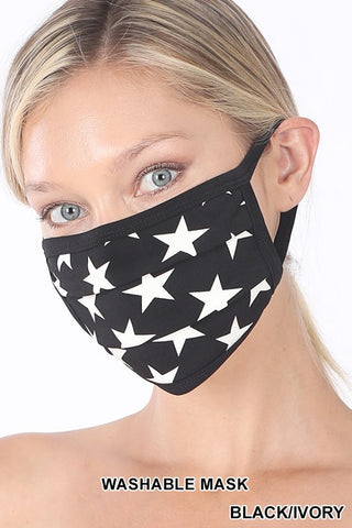 black star mask covid safety