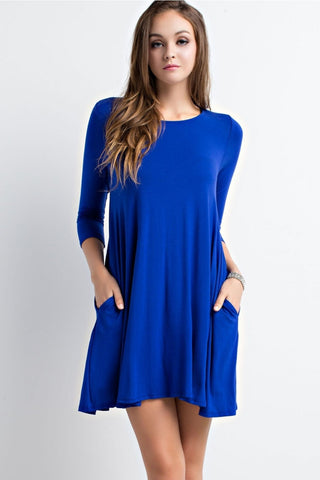 Cubbie Blue Cobalt Dress
